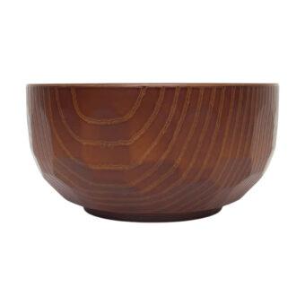 Japanese Wood Grain Bowl