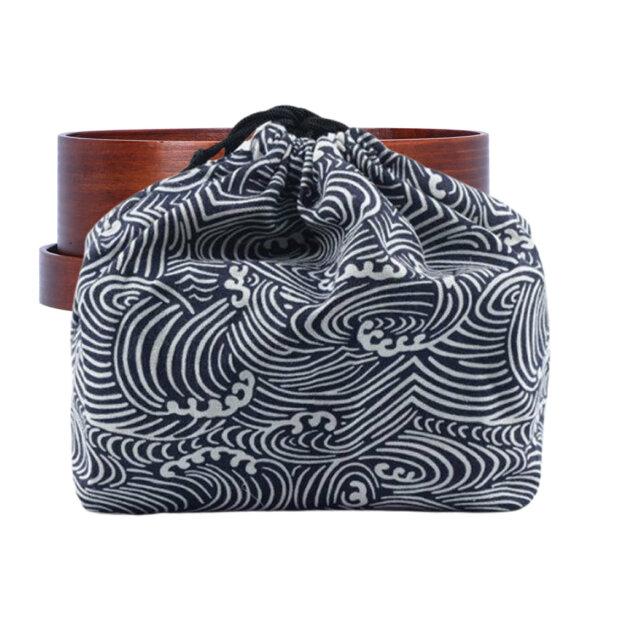 Nami Wave Bento Lunch Bag