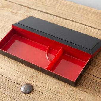Long Two Compartment Bento Box