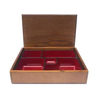 Kusunoki Wood Bento Boxes