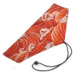 Orange Great Wave Chopstick & Cutlery Bag