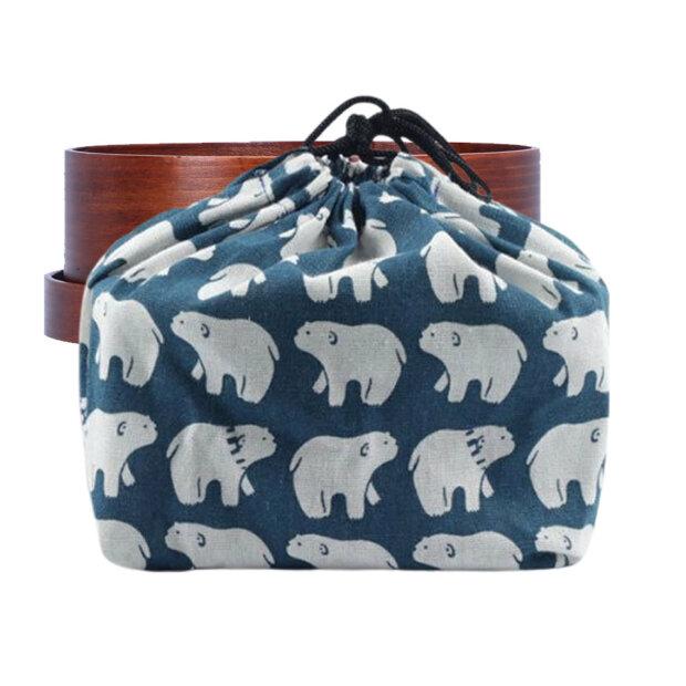 Polar Bear Bento Box Bag
