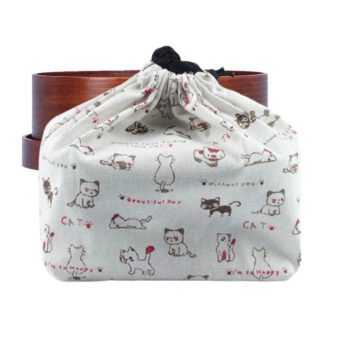 So Happy Cat Bento Box Bag