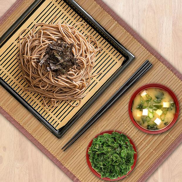Japanese Soba Noodle Tray Set