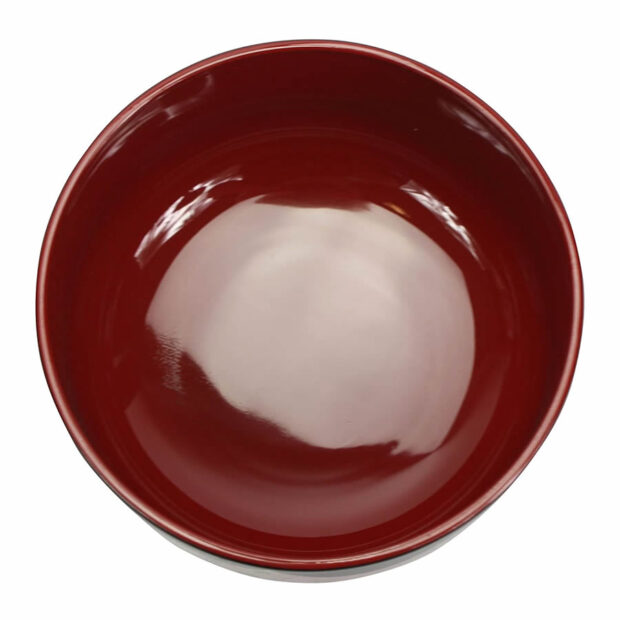 Traditional Japanese Bowl with Golden Design