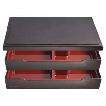 Shokado Extra Large Bento Box Set