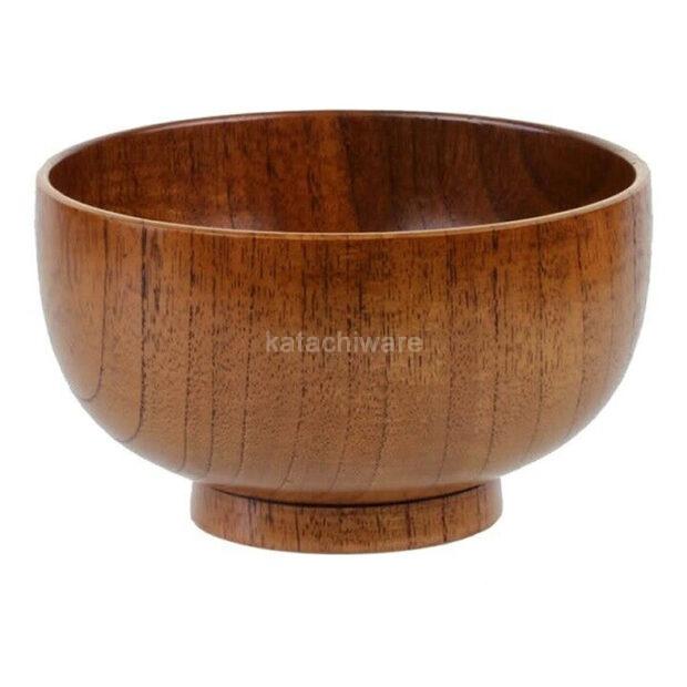 Natural Wood Miso Bowl
